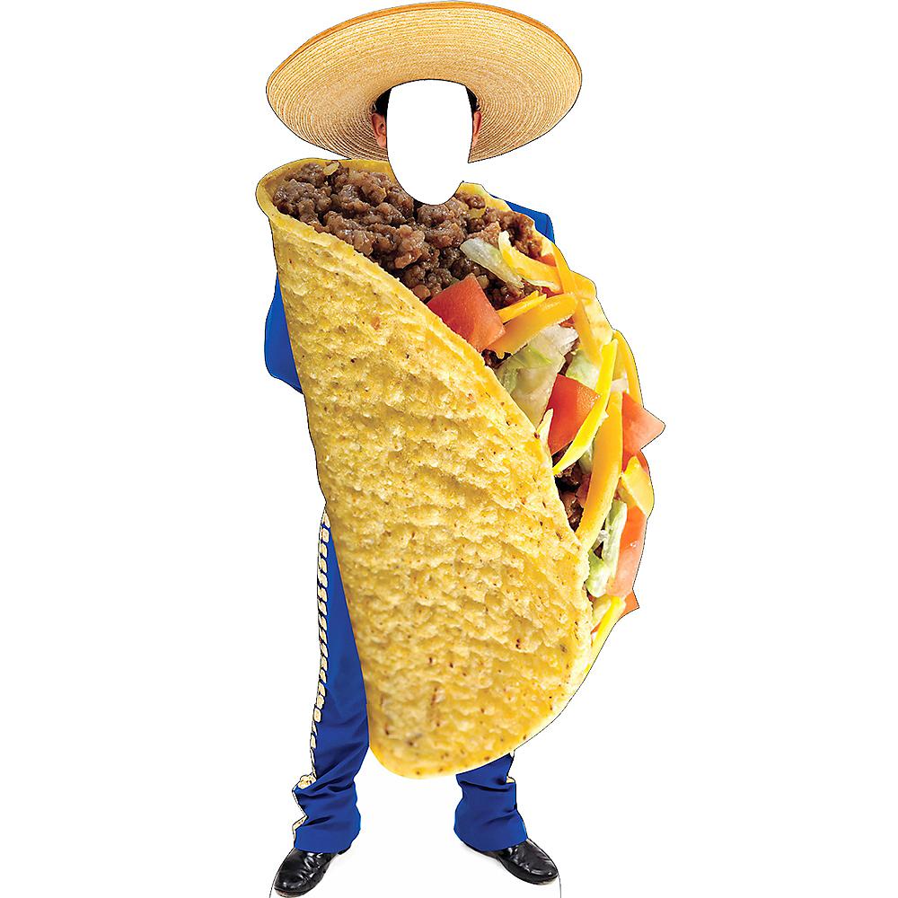 Mariachi Taco Life-Size Photo Cardboard Cutout Image #1