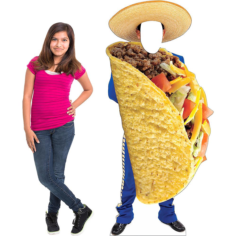 Mariachi Taco Life-Size Photo Cardboard Cutout Image #2