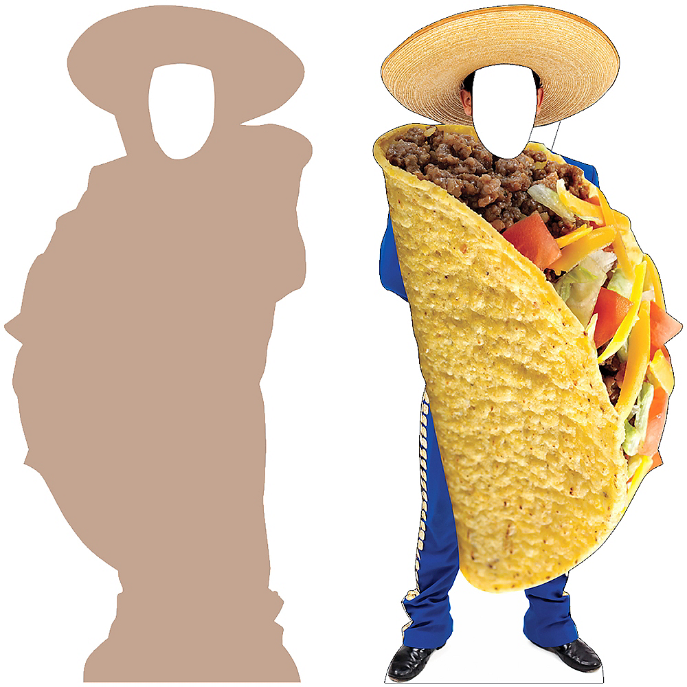 Mariachi Taco Life-Size Photo Cardboard Cutout Image #3