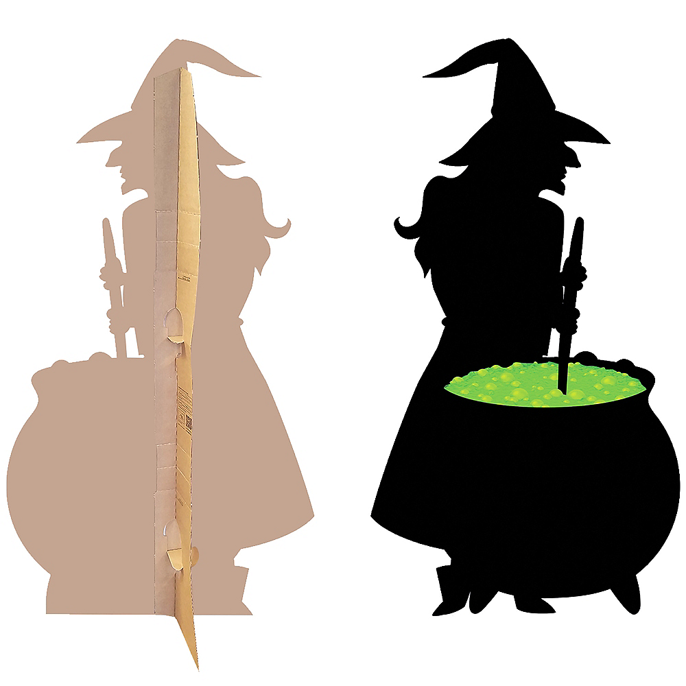 Nav Item For Witch Cauldron Life Size Cardboard Cutout Image 3