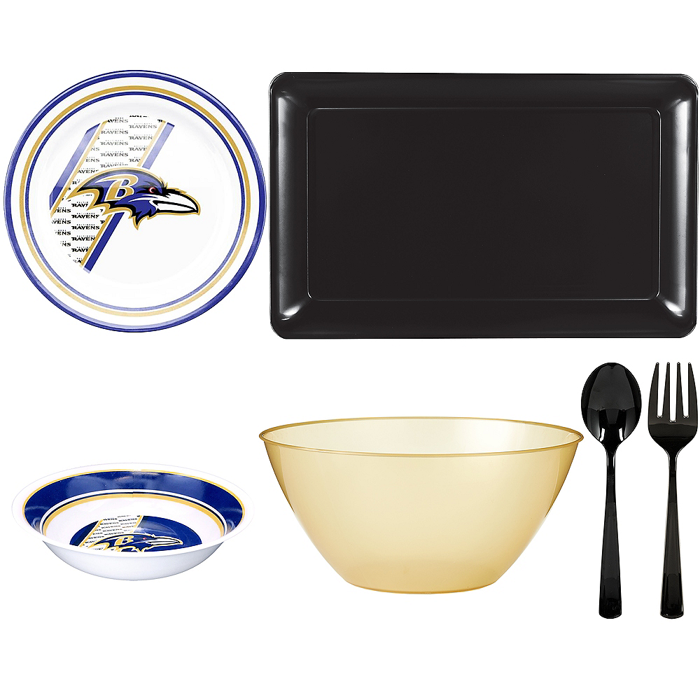 Baltimore Ravens Serveware Kit Image #1