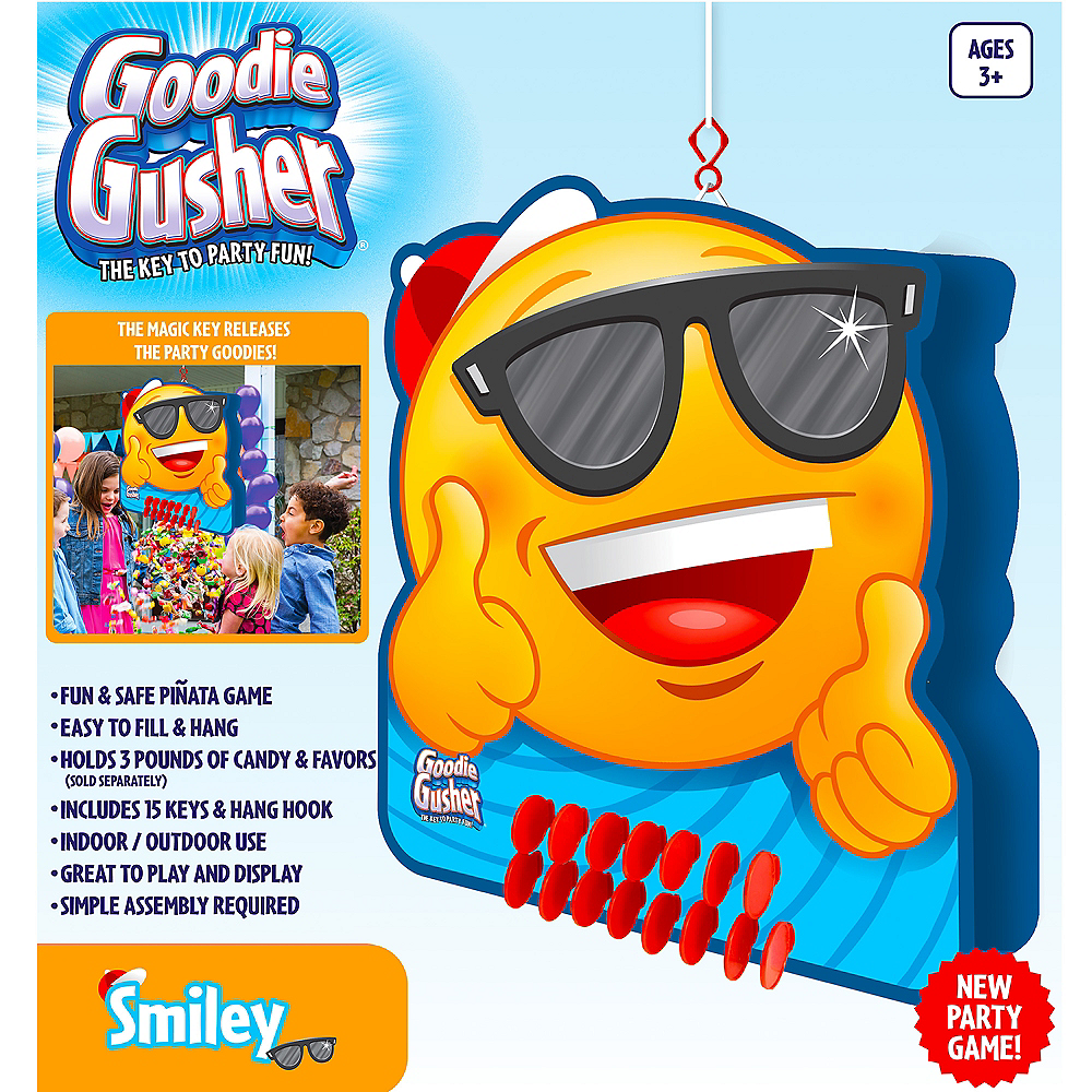 Goodie Gusher Sunglasses Smiley Pinata Image #2