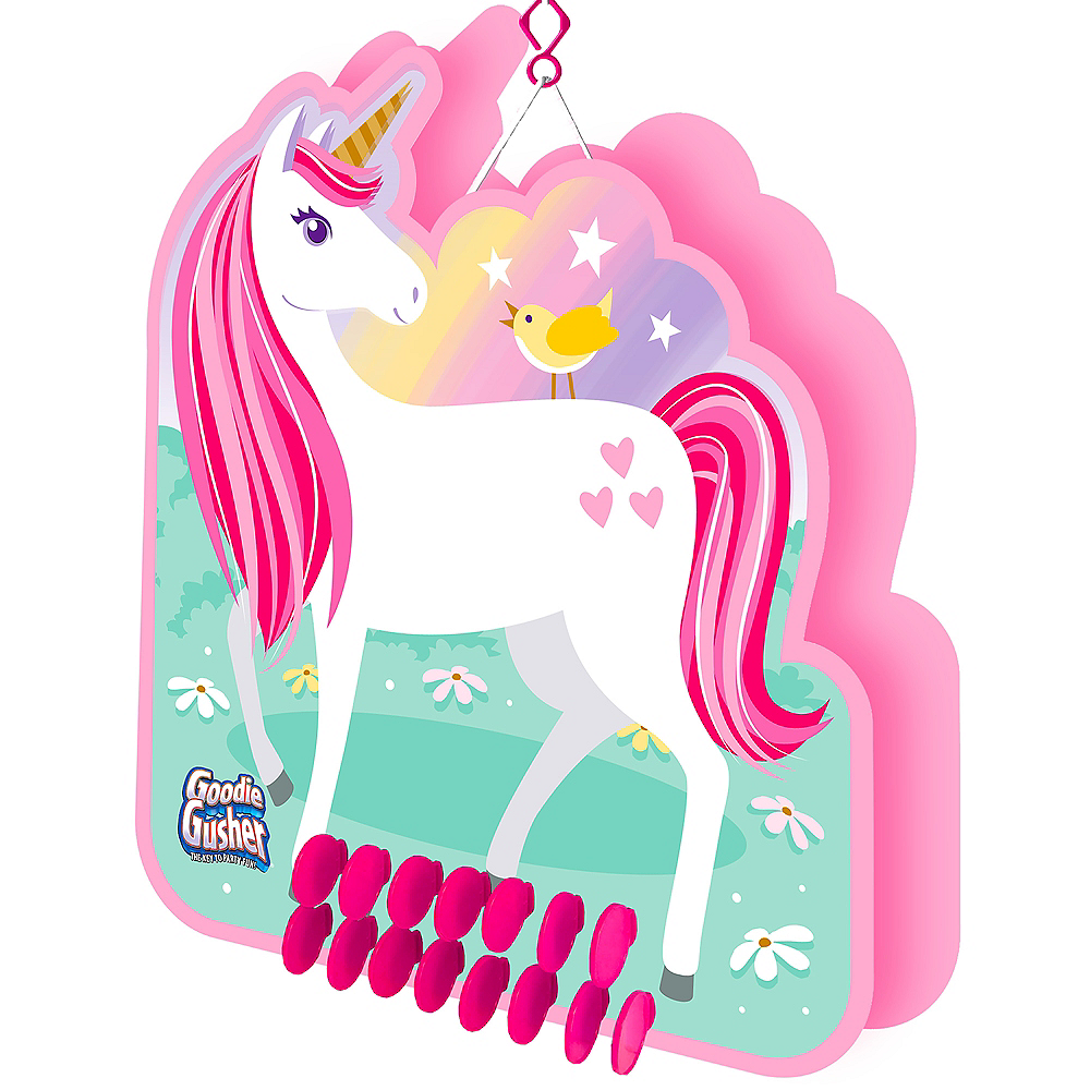 Goodie Gusher Unicorn Pinata 13in X 15in Party City