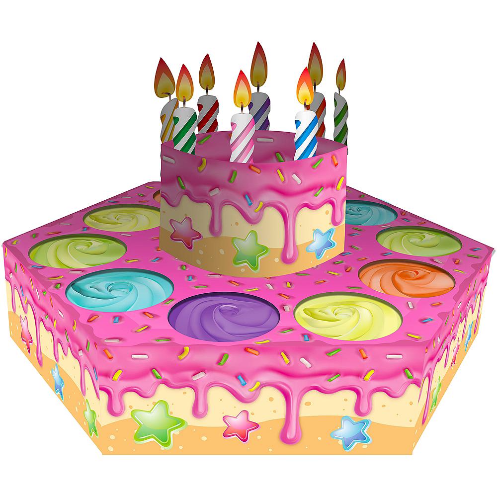 Goodie Gusher 10-Hole Cake Pinata Image #1