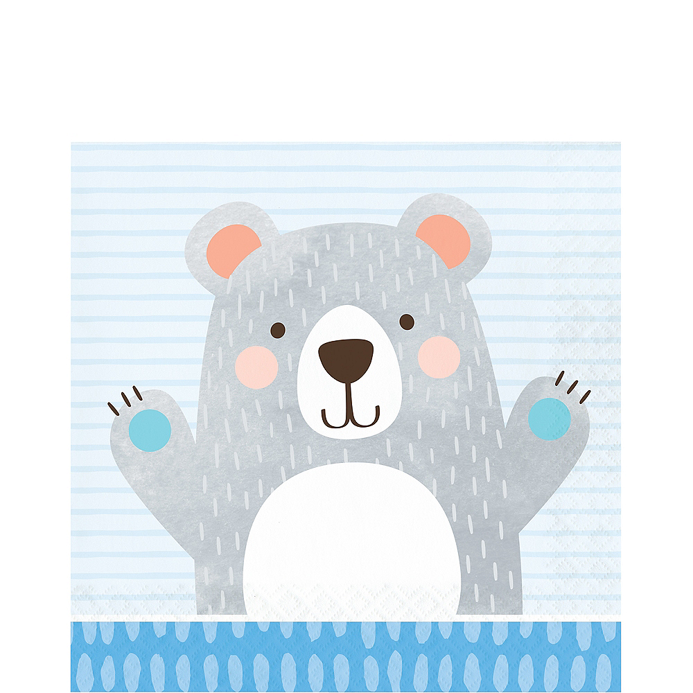 Beary Cute Lunch Napkins 16ct Image #1