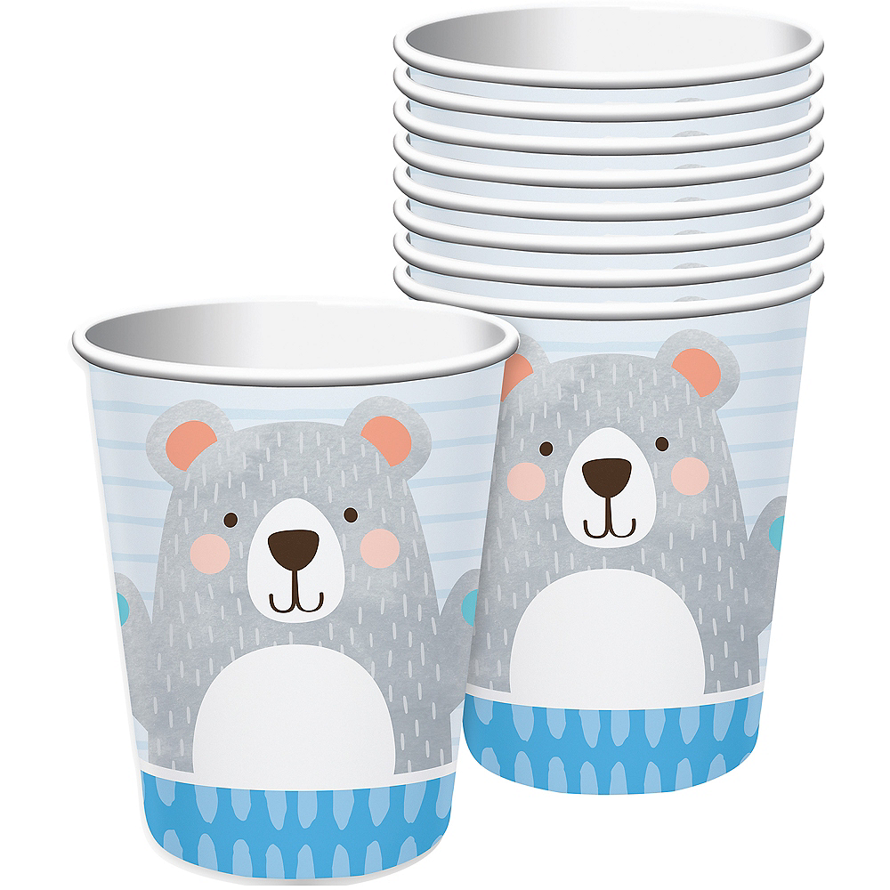 Beary Cute Cups 8ct Image #1