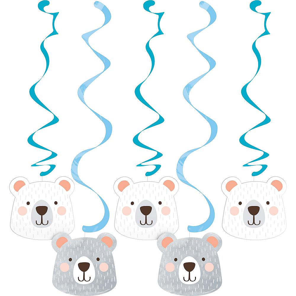 Beary Cute Swirl Decorations 5ct Image #1