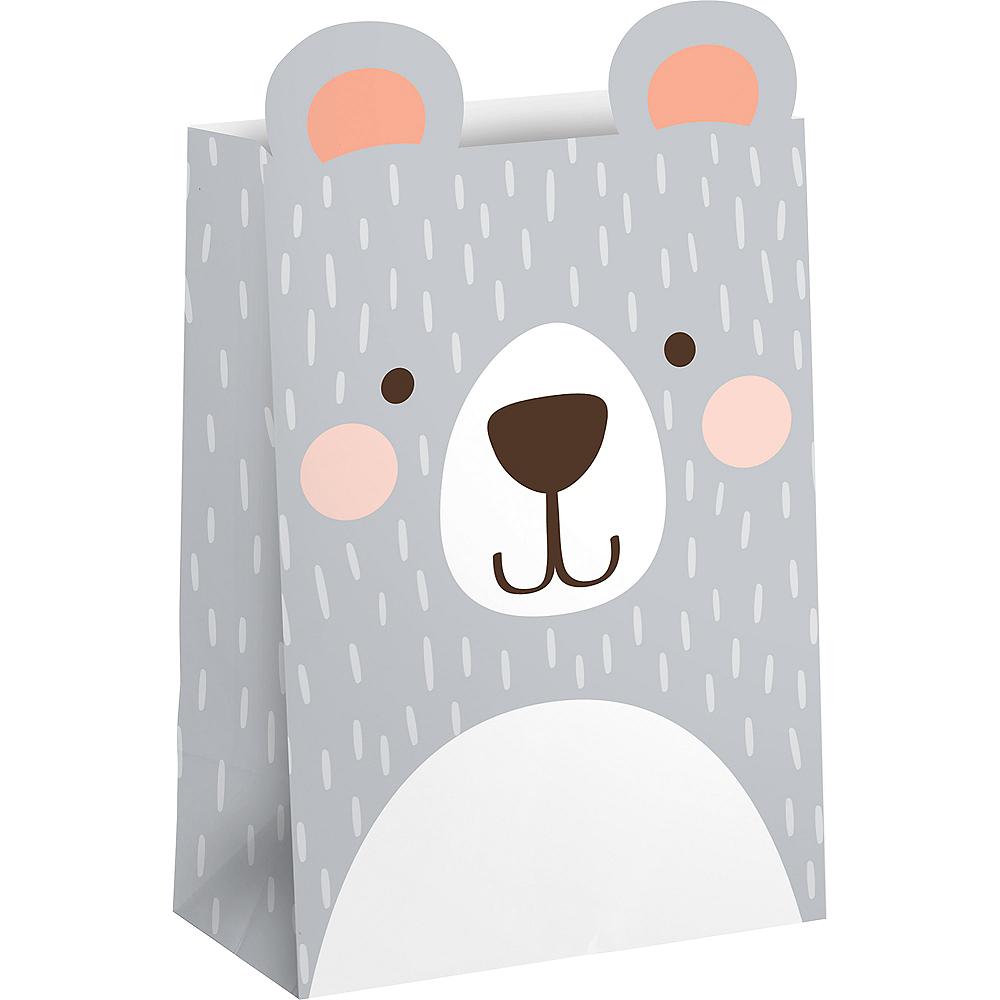 Beary Cute Favor Bags 8ct Image #1