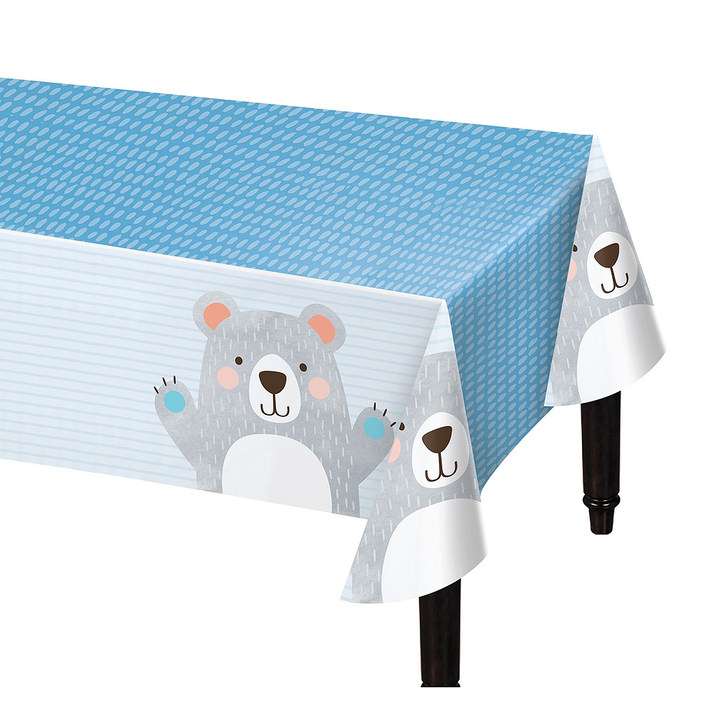 Beary Cute 1st Birthday Tableware Kit for 16 Guests Image #7