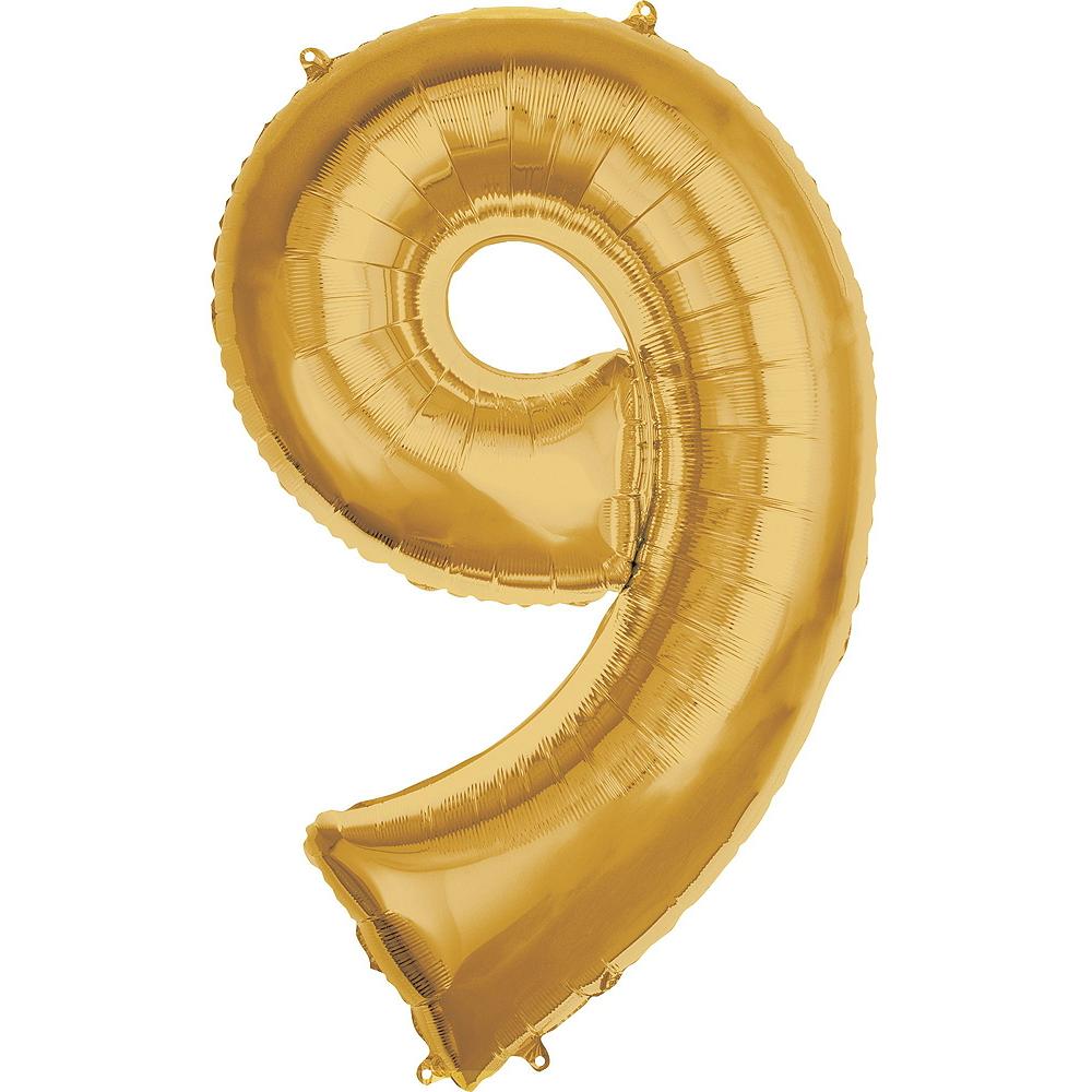 Giant Gold 2019 Number Balloon Kit Image #6
