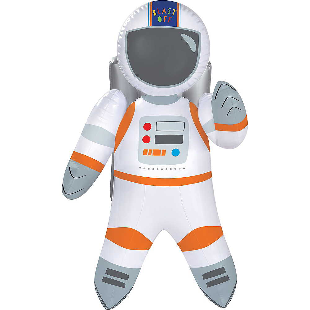 Nav Item for Blast Off Inflatable Astronaut Image #1
