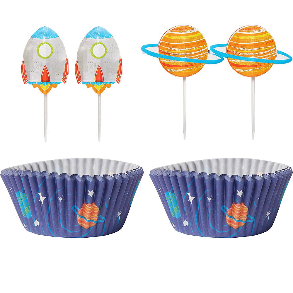 Blast Off Cupcake Decorating Kit for 24 Image #1