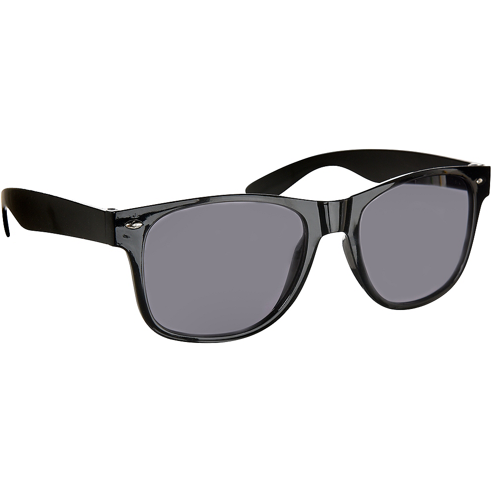 Classic Black Frame Sunglasses Image #2