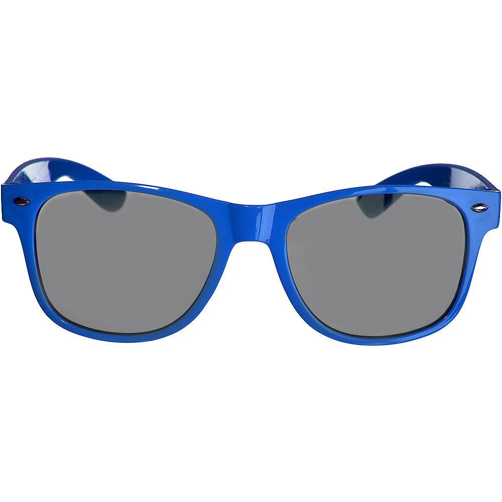 Classic Blue Frame Sunglasses Image #1
