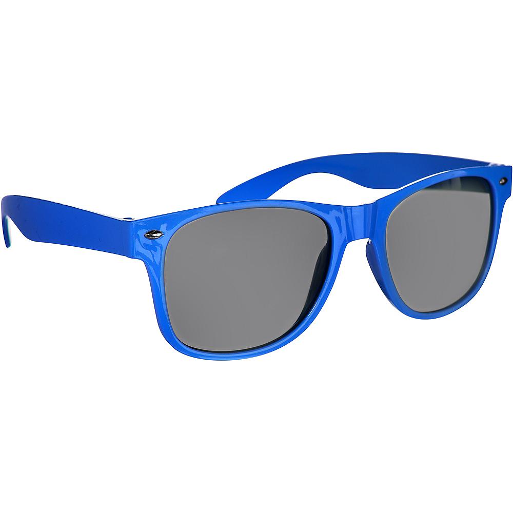 Classic Blue Frame Sunglasses Image #2