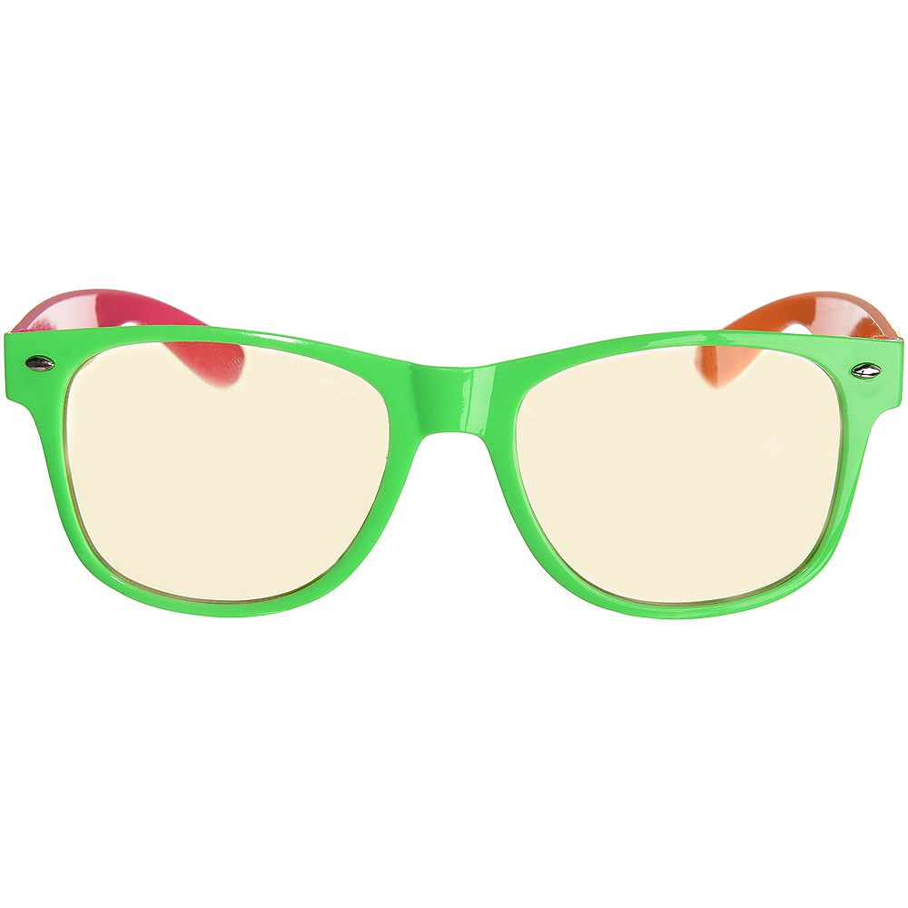 Classic Neon Frame Sunglasses Image #1