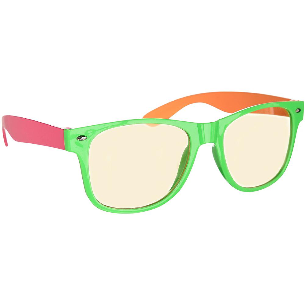 Classic Neon Frame Sunglasses Image #2