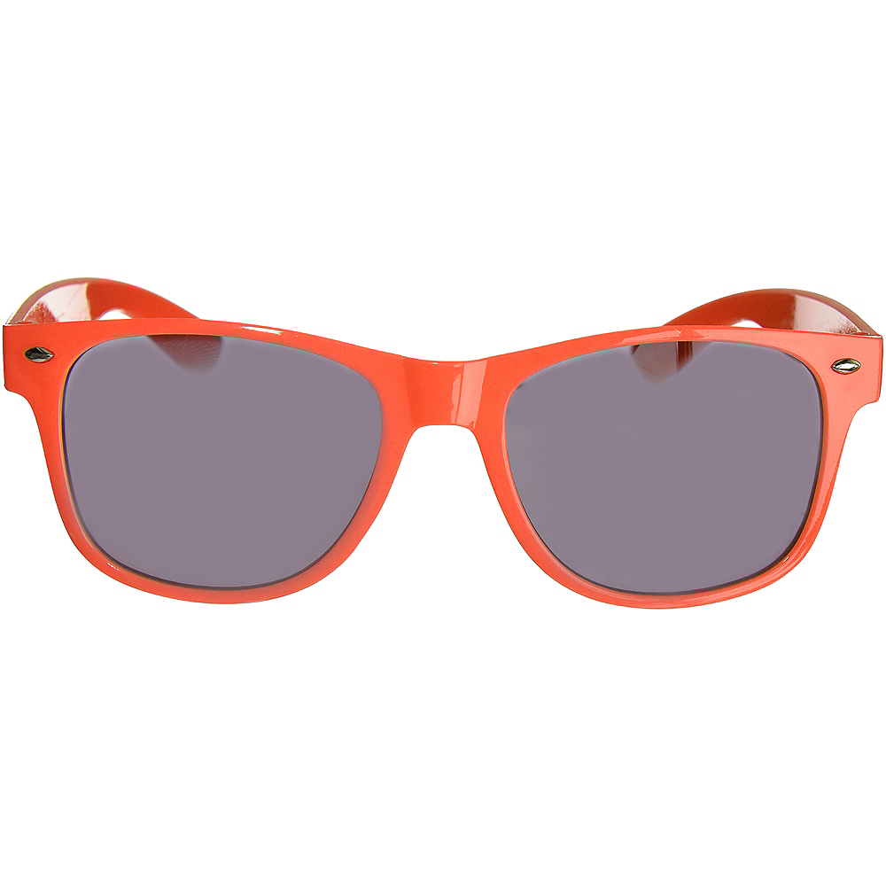 Classic Orange Frame Sunglasses Image #1
