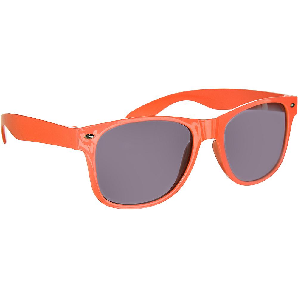 Classic Orange Frame Sunglasses Image #2