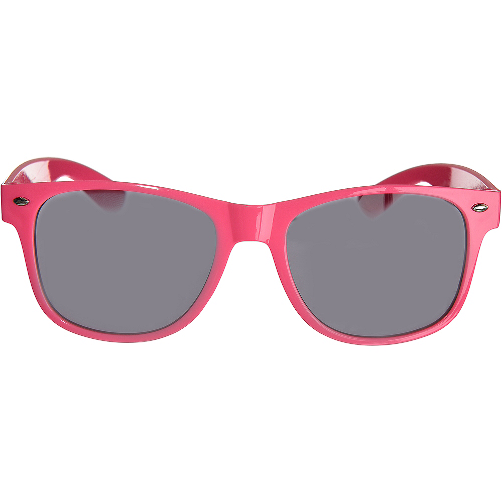 Classic Pink Frame Sunglasses Image #1