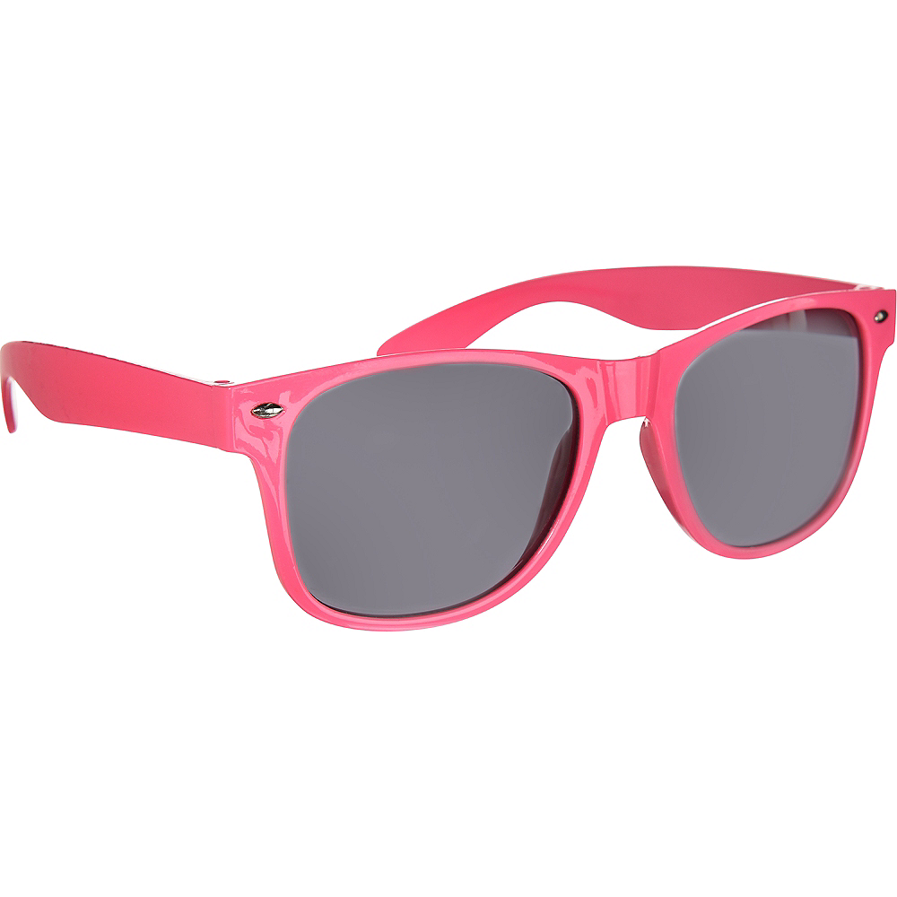 Classic Pink Frame Sunglasses Image #2