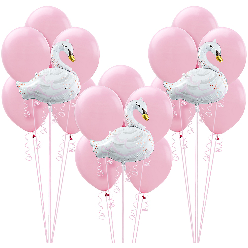 Swan Party Balloon Kit Image #1