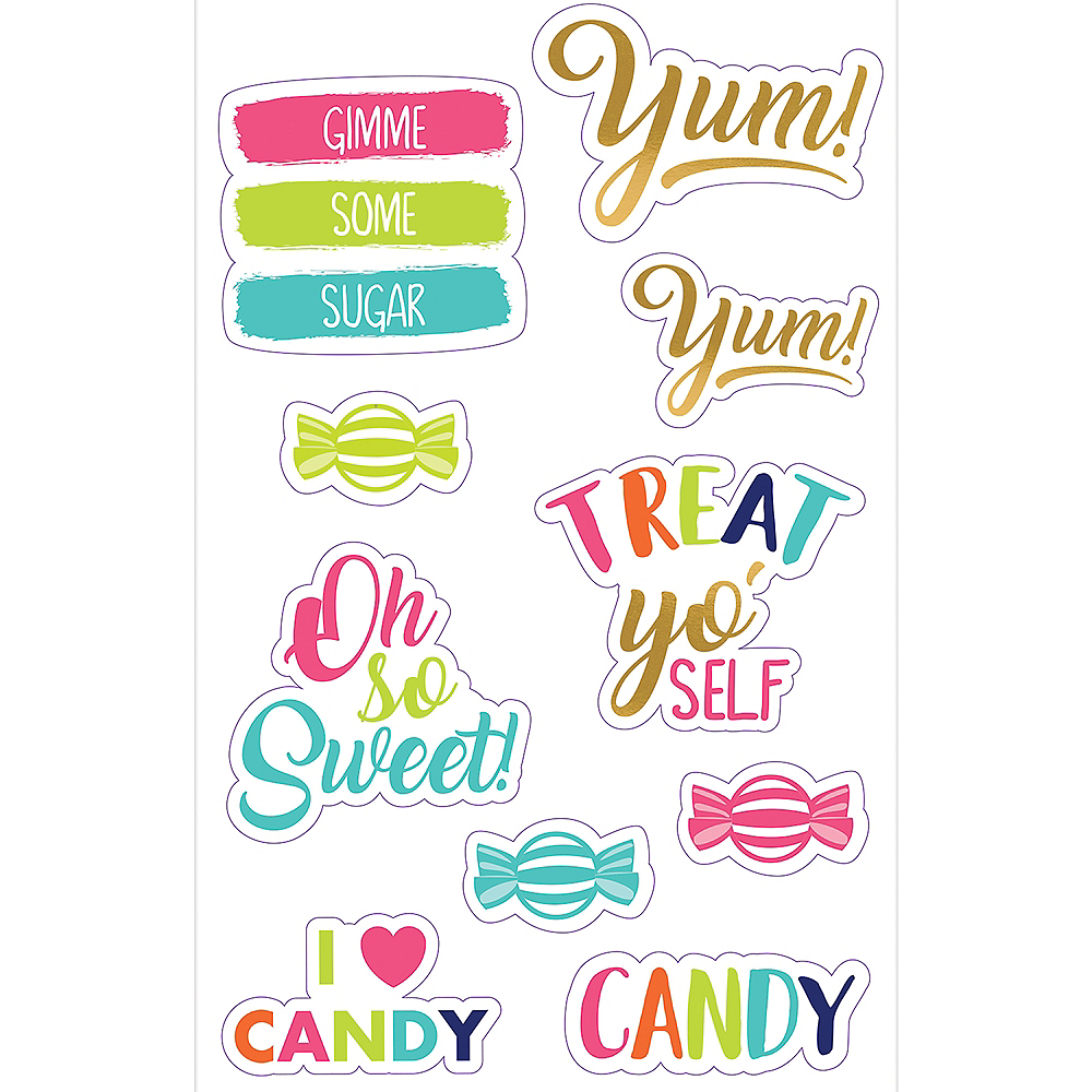 Sweet Treats Decals 10ct Image #1
