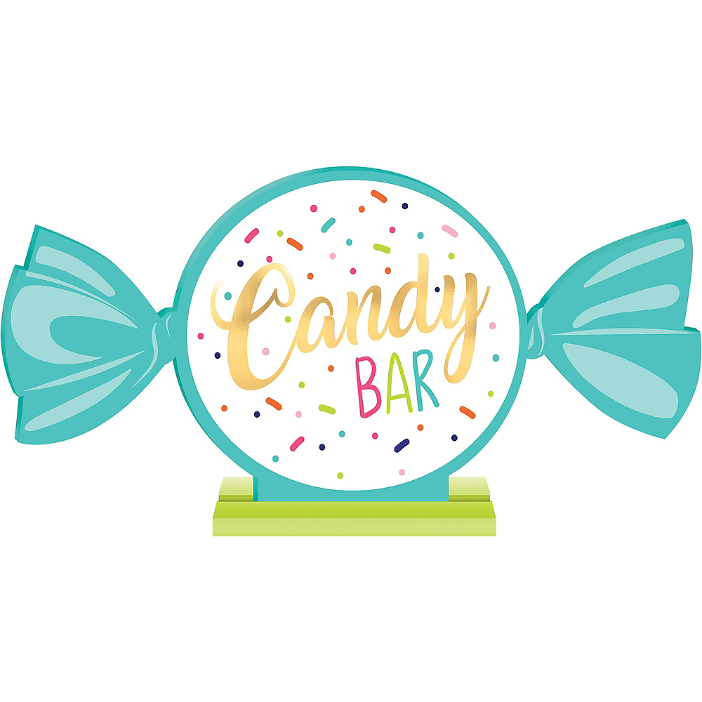 Dessert Candy Buffet Station | Kid Cupcakes Cookie Party ... |Sweet Treats Party Table