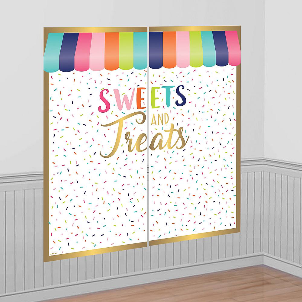 Sweet Treats Scene Setter 2pc Image #1