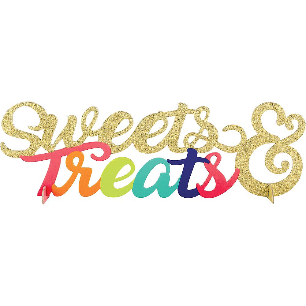 Glitter Sweet Treats Centerpiece Image #1