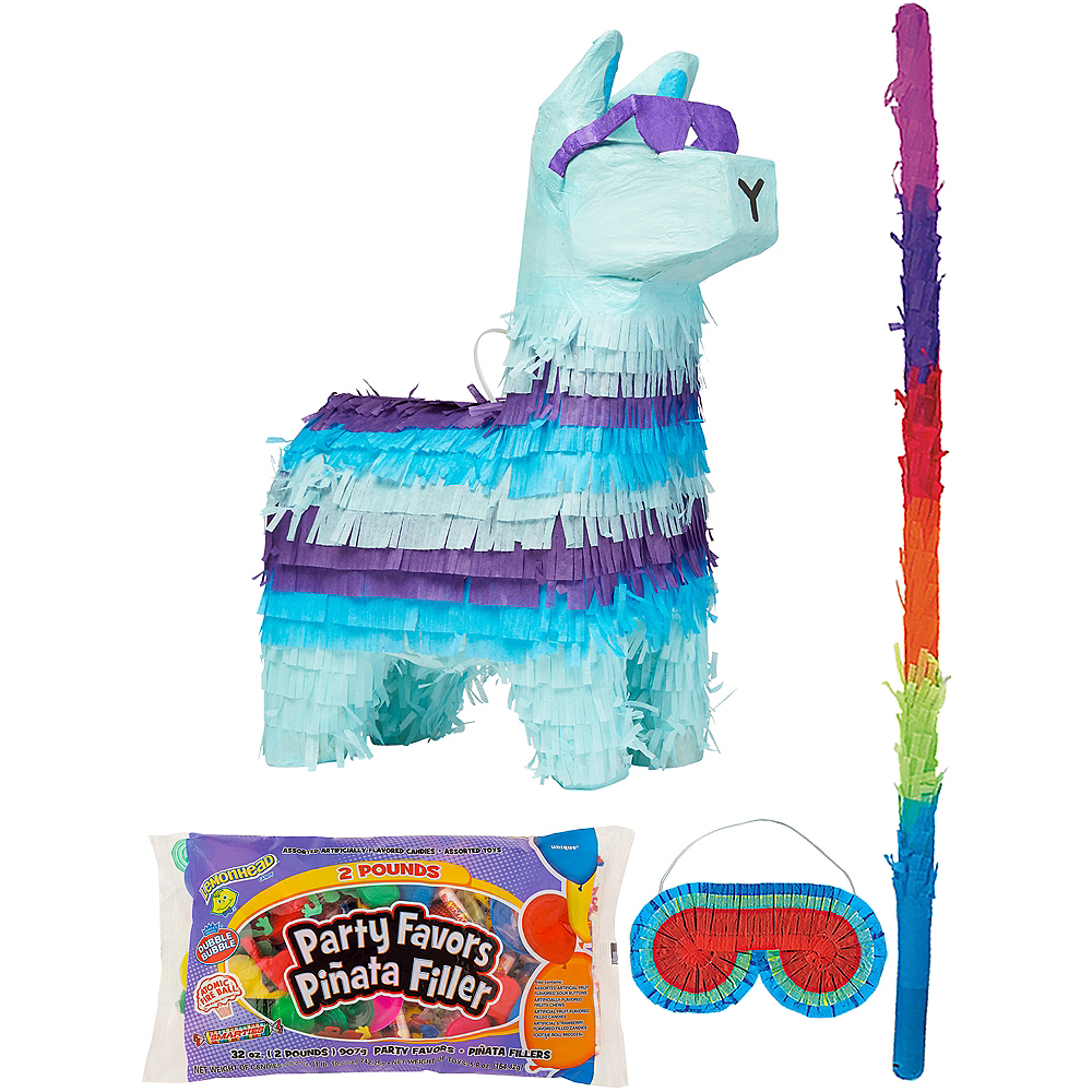 Battle Royal Llama Pinata Kit with Candy & Favors Image #1