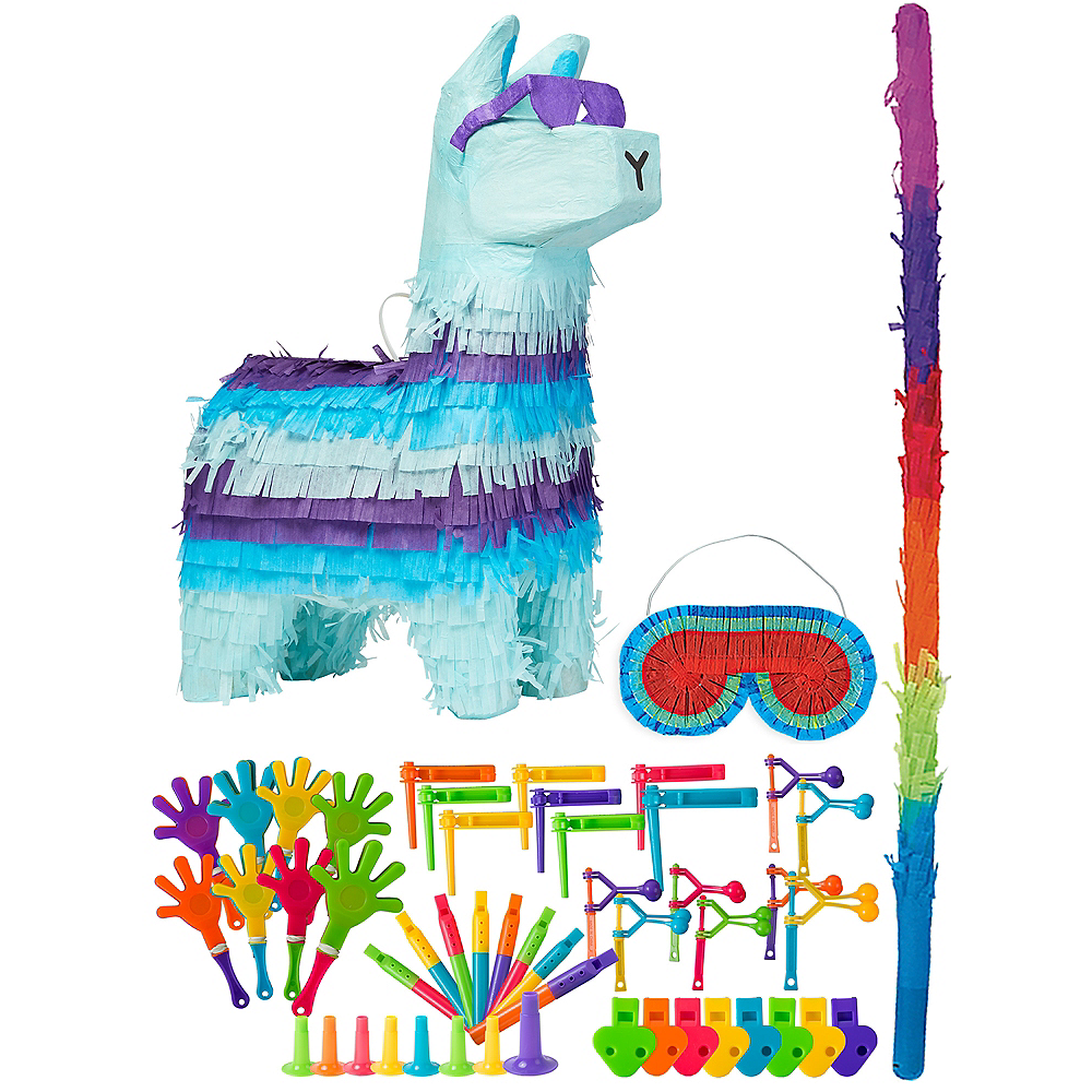 Battle Royal Llama Pinata Kit with Favors Image #1