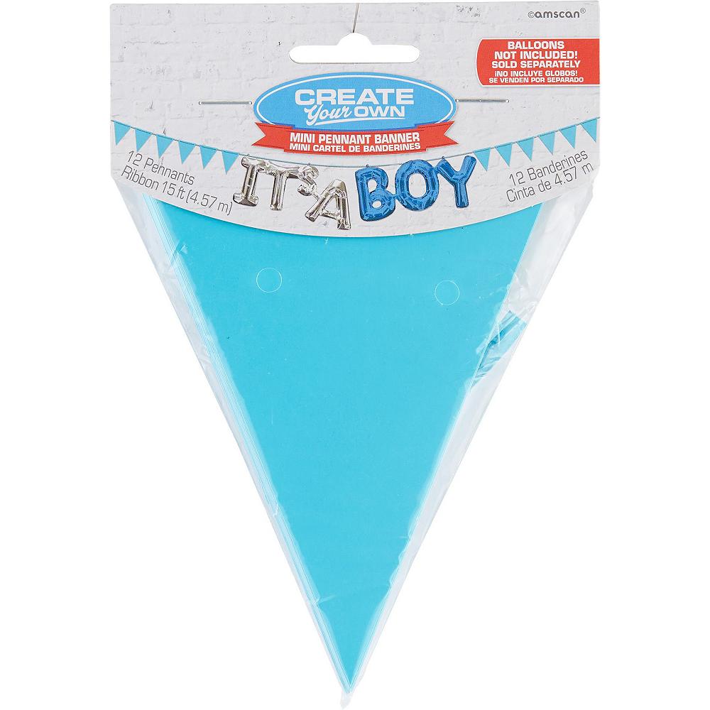 Blue Adventure Begins Baby Shower Decorating Kit Image #2