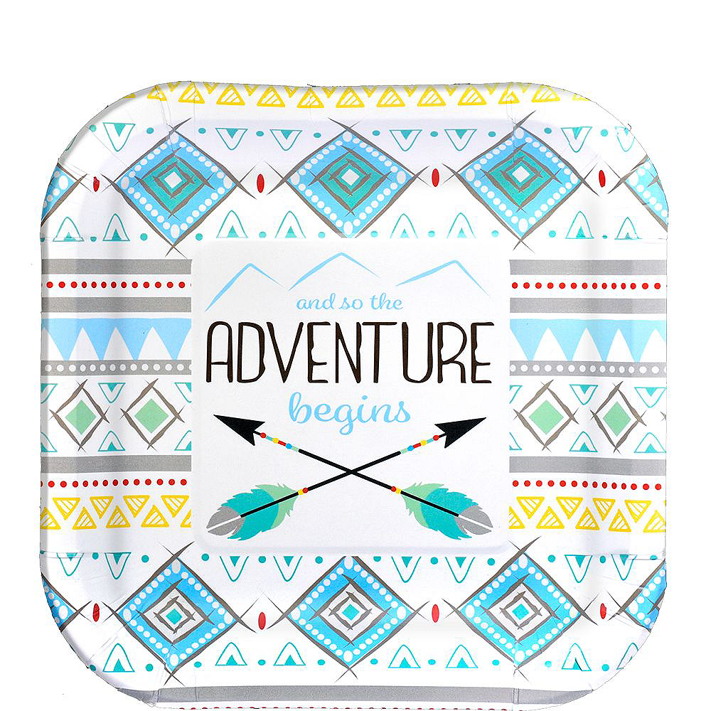 Blue Adventure Begins Baby Shower Kit for 16 Guests Image #2