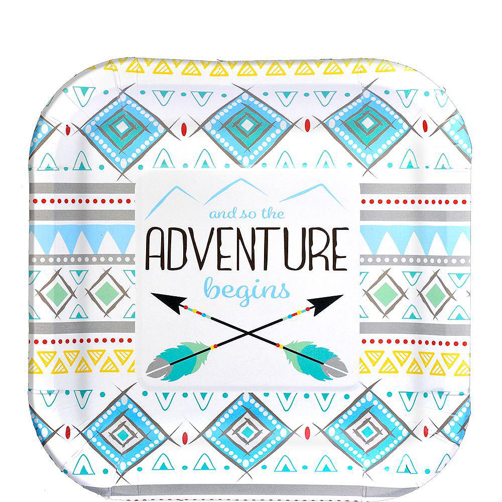 Blue Adventure Begins Premium Baby Shower Kit for 32 Guests Image #2