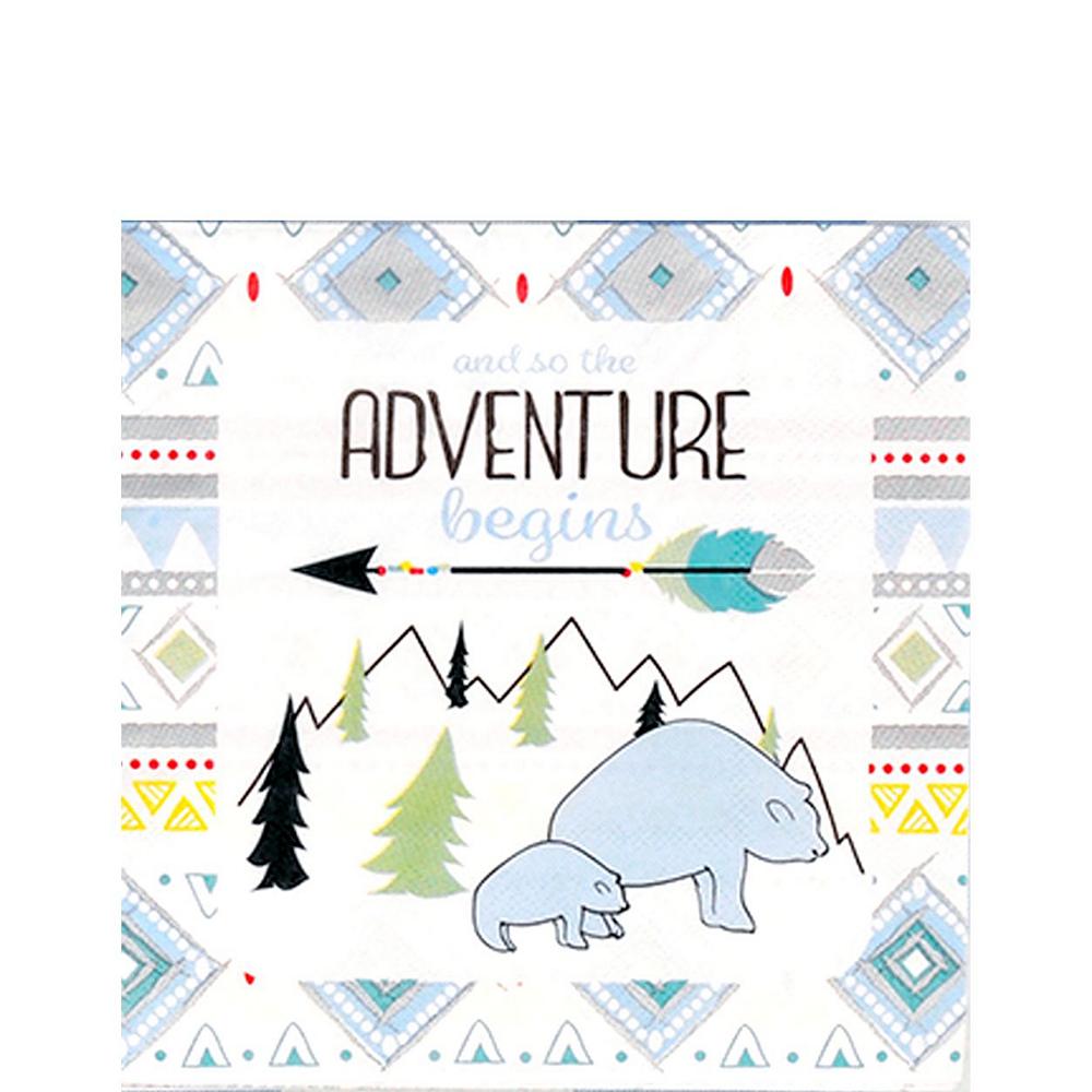 Blue Adventure Begins Premium Baby Shower Kit for 32 Guests Image #5