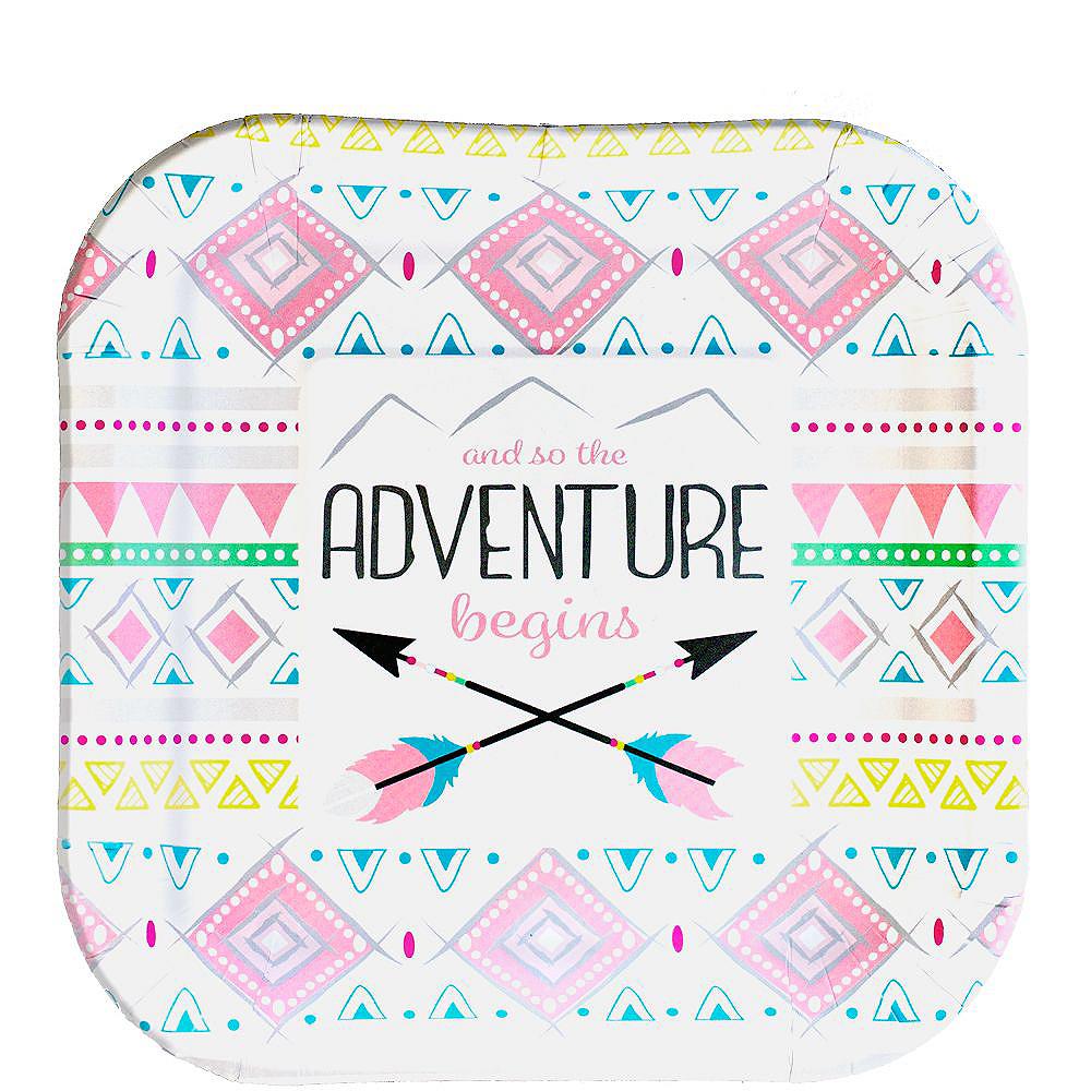 Pink Adventure Begins Baby Shower Kit for 16 Guests Image #2