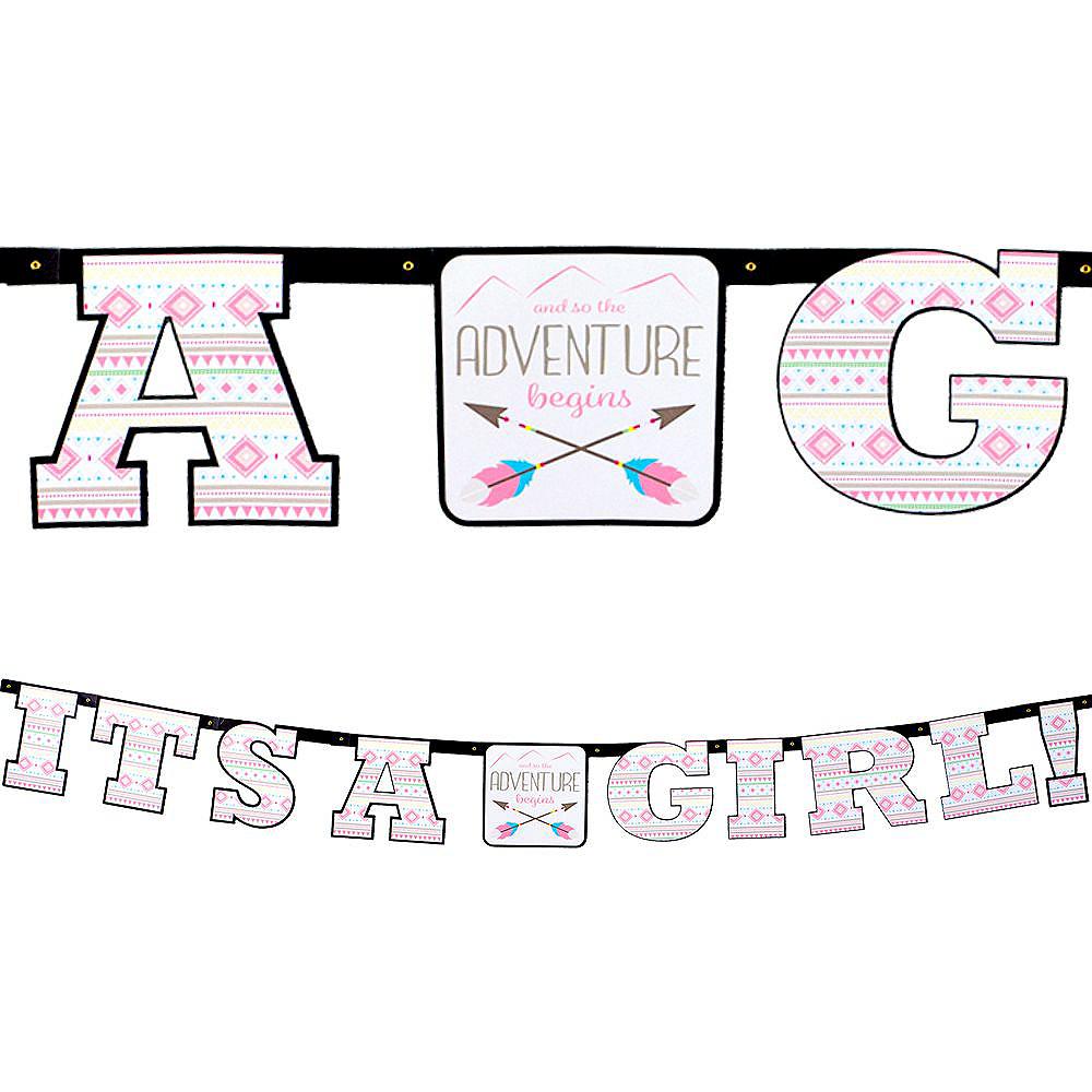 Pink Adventure Begins Baby Shower Kit for 16 Guests Image #10