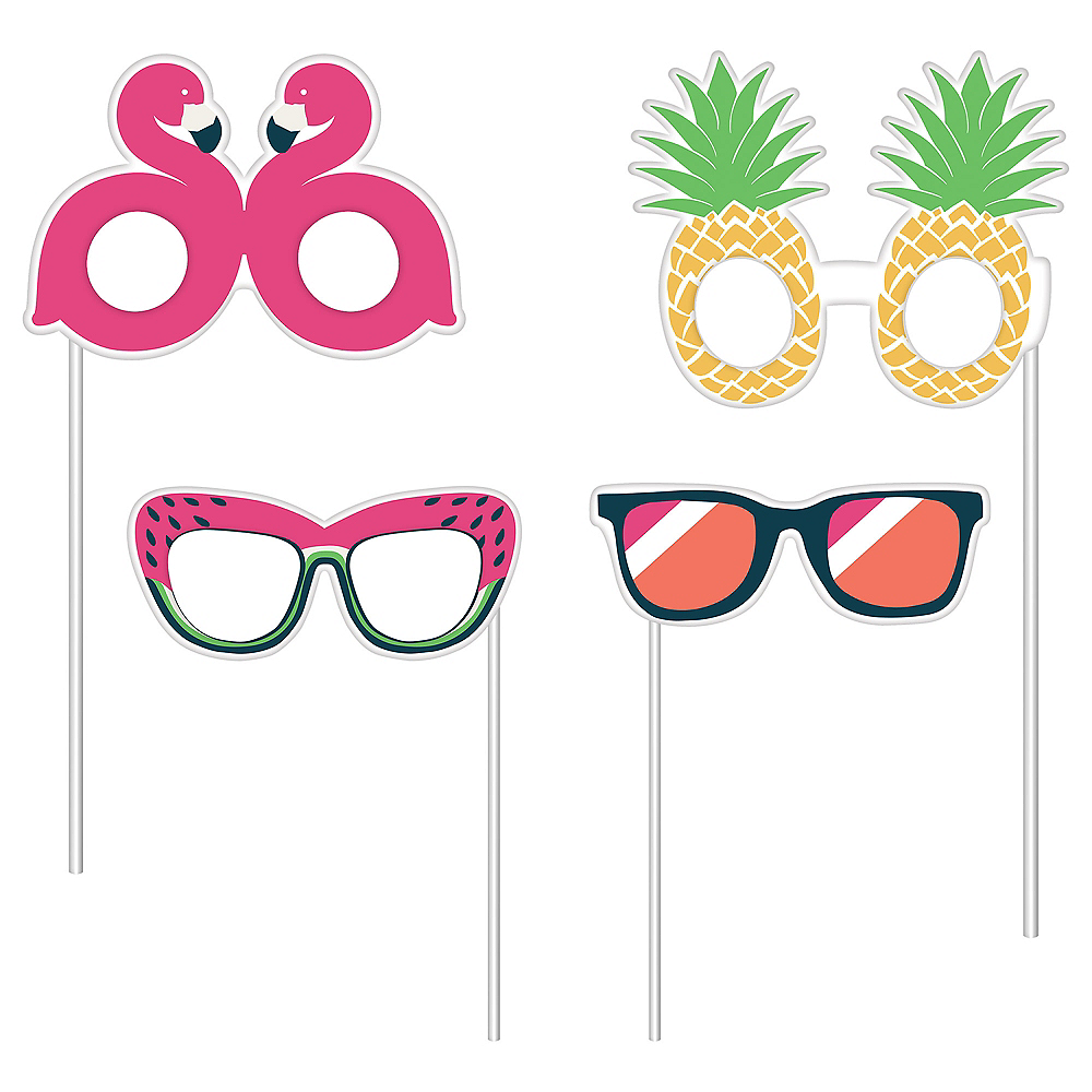 Trendy Tropical Photo Booth Props Image #2