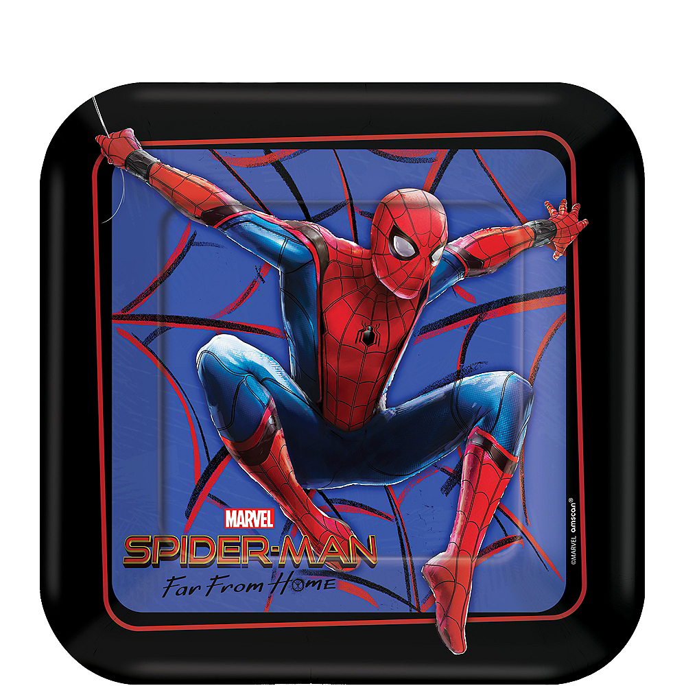Spider-Man: Far From Home Dessert Plates 8ct Image #1
