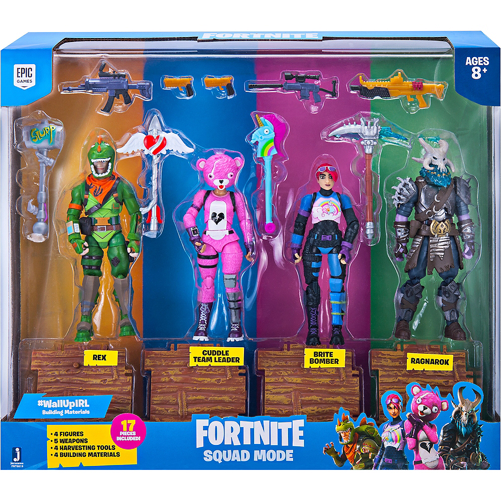 Squad Mode Playset 17pc - Fortnite Image #1