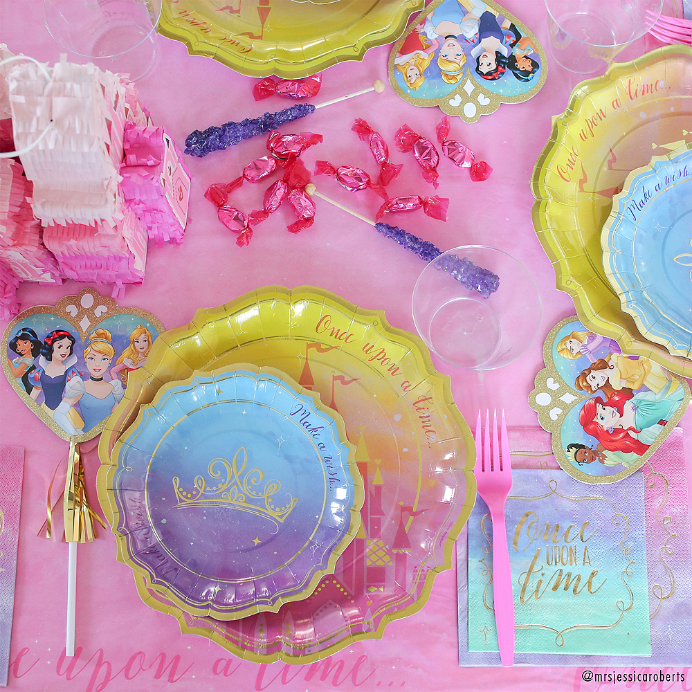 Metallic Disney Once Upon a Time Lunch Napkins 16ct Image #3