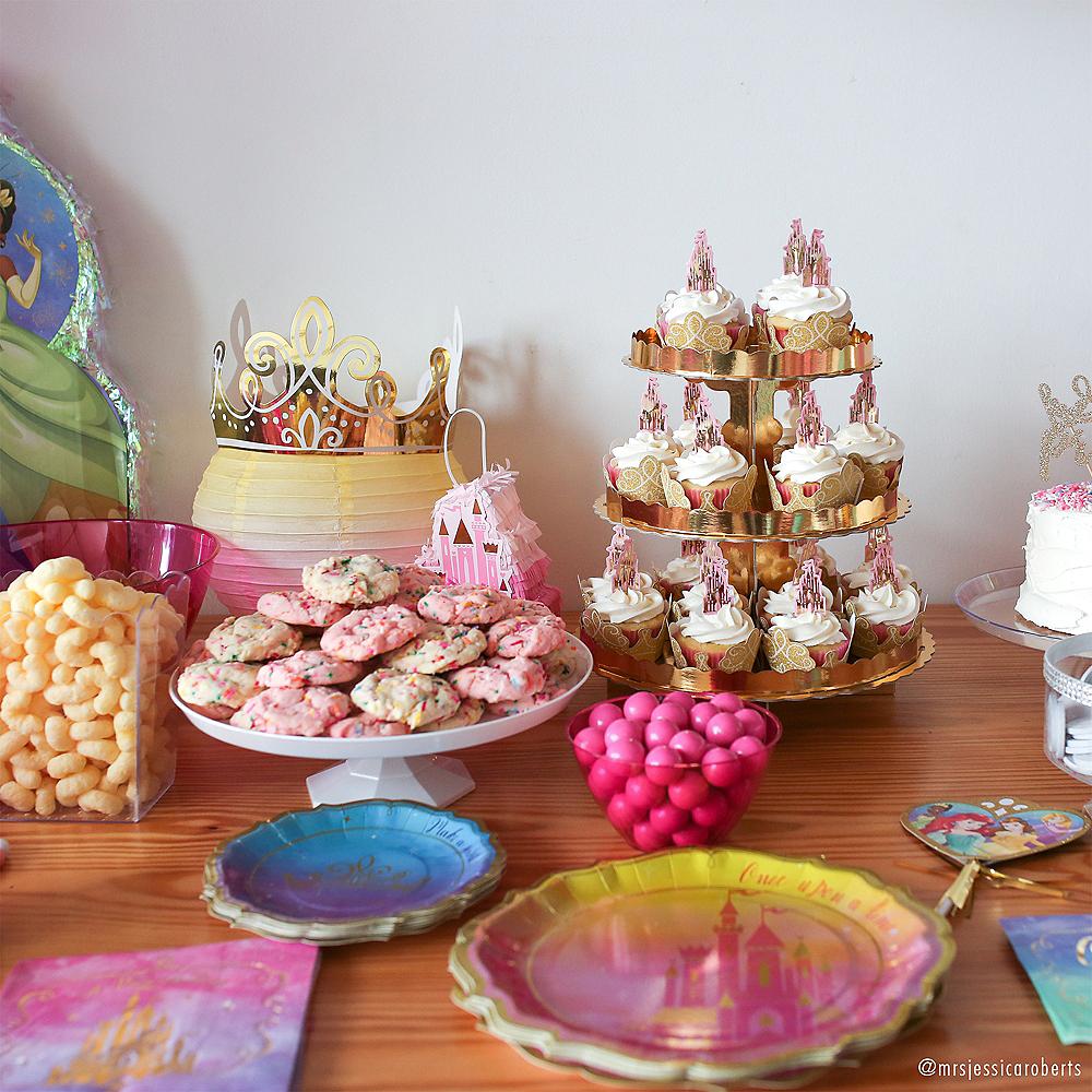 Metallic Disney Once Upon A Time Dessert Plates 8ct