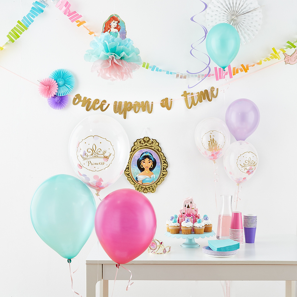 Glitter Disney Once Upon a Time Letter Banner Image #2