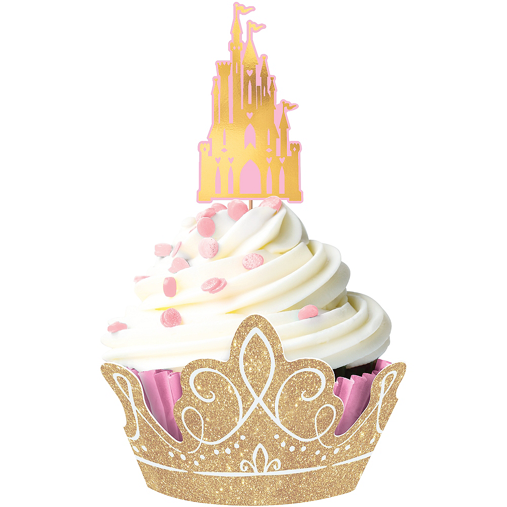 Glitter Disney Once Upon a Time Cupcake Kit for 24 Image #1