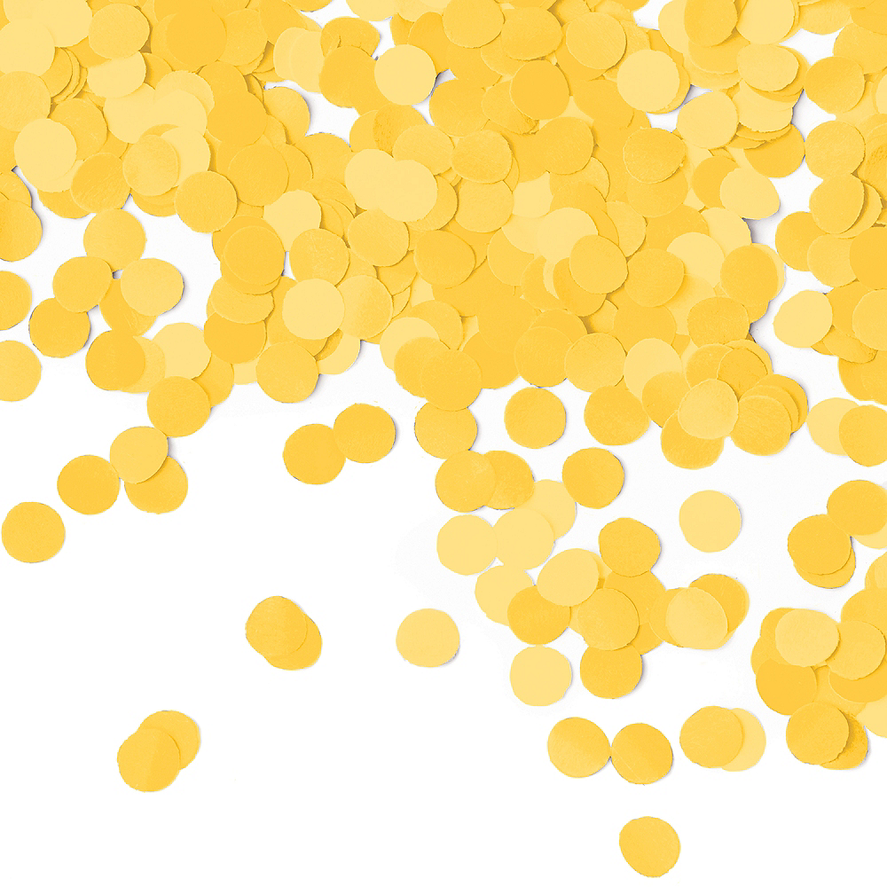 Nav Item for Sunshine Yellow Dots Tissue Paper Confetti Image #1