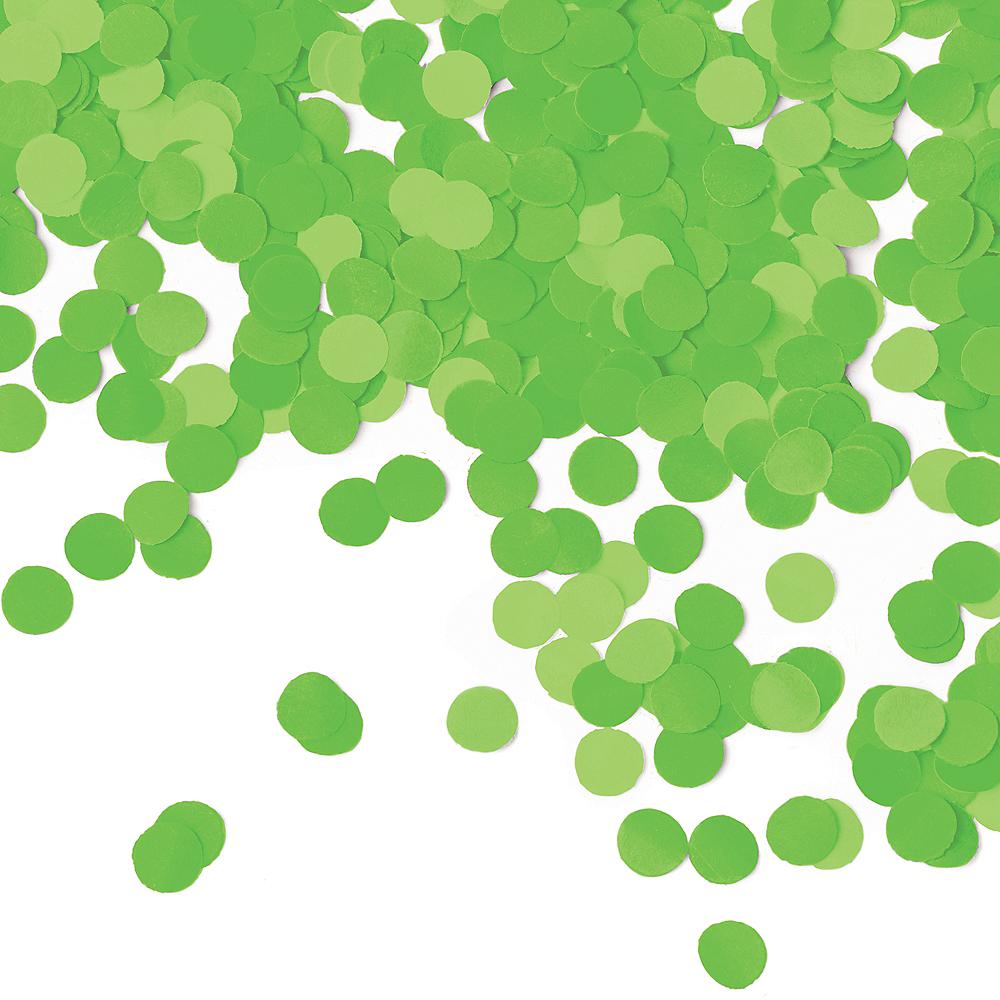 Kiwi Green Dots Tissue Paper Confetti Image #1