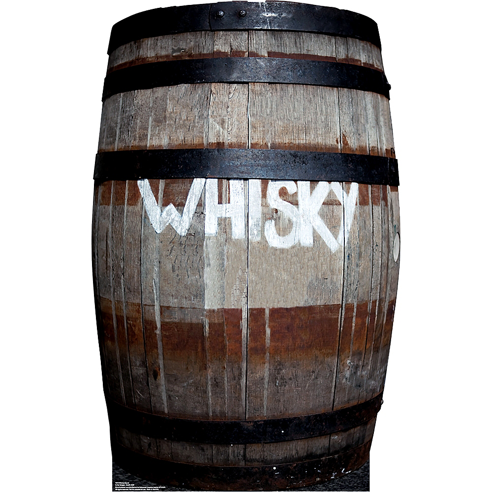 Whisky Barrel Standee Image #1