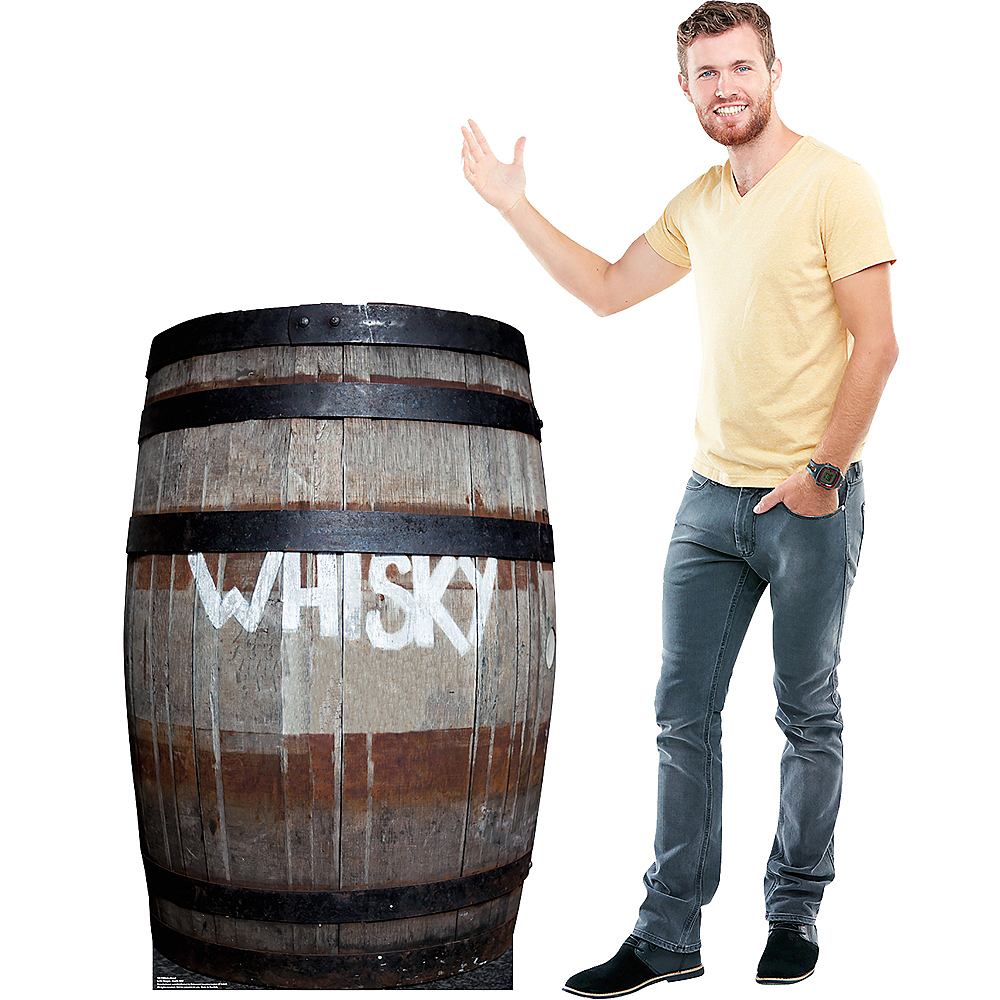 Whisky Barrel Standee Image #2