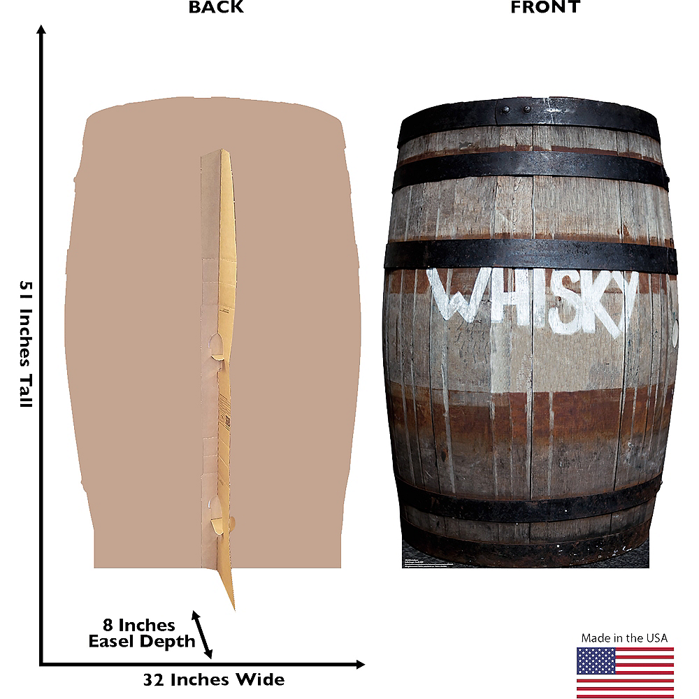 Whisky Barrel Standee Image #3